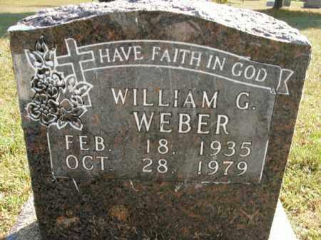 WEBER, WILLIAM G. - Boone County, Arkansas | WILLIAM G. WEBER - Arkansas Gravestone Photos