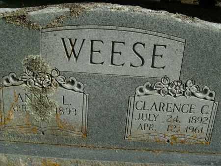 WEESE, CLARENCE C. - Boone County, Arkansas | CLARENCE C. WEESE - Arkansas Gravestone Photos