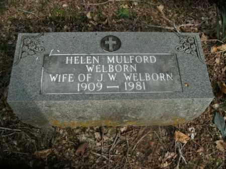 WELBORN, HELEN - Boone County, Arkansas   HELEN WELBORN - Arkansas Gravestone Photos
