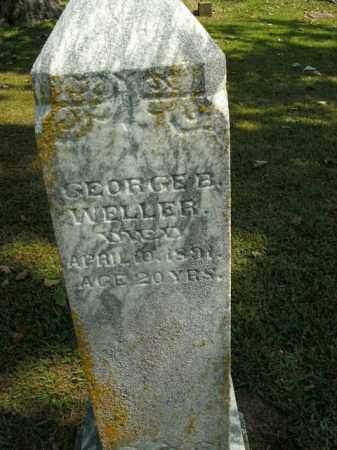 WELLER, GEORGE B. - Boone County, Arkansas   GEORGE B. WELLER - Arkansas Gravestone Photos