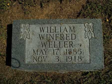 WELLER, WILLIAM WINFRED - Boone County, Arkansas | WILLIAM WINFRED WELLER - Arkansas Gravestone Photos