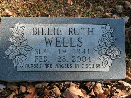 WELLS, BILLIE RUTH - Boone County, Arkansas | BILLIE RUTH WELLS - Arkansas Gravestone Photos