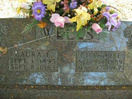 WELLS, CHARLIE E. - Boone County, Arkansas | CHARLIE E. WELLS - Arkansas Gravestone Photos