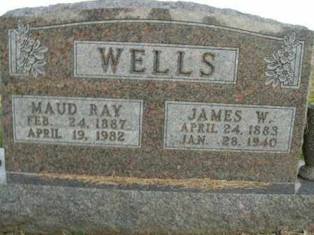 WELLS, MAUD RAY - Boone County, Arkansas | MAUD RAY WELLS - Arkansas Gravestone Photos