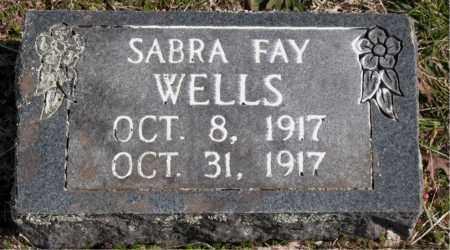 WELLS, SABRA FAY - Boone County, Arkansas | SABRA FAY WELLS - Arkansas Gravestone Photos