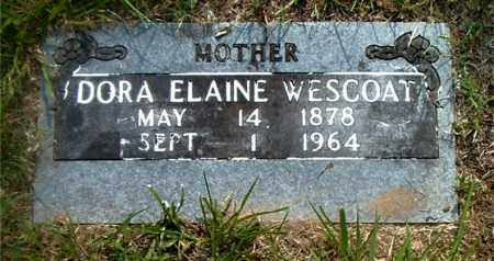 WESCOAT, DORA ELAINE - Boone County, Arkansas | DORA ELAINE WESCOAT - Arkansas Gravestone Photos