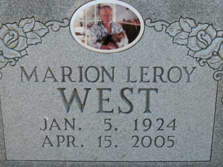 WEST, MARION LEROY - Boone County, Arkansas | MARION LEROY WEST - Arkansas Gravestone Photos