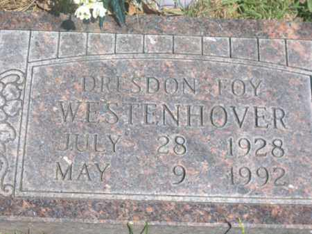 WESTENHOVER, DRESDON FOY - Boone County, Arkansas | DRESDON FOY WESTENHOVER - Arkansas Gravestone Photos