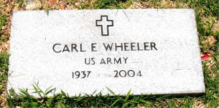 WHEELER  (VETERAN), CARL E - Boone County, Arkansas | CARL E WHEELER  (VETERAN) - Arkansas Gravestone Photos
