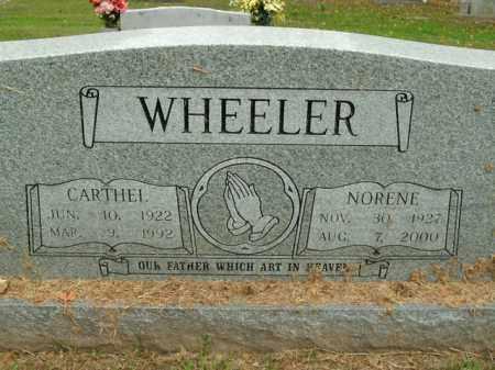 WHEELER, JAMES CARTHEL - Boone County, Arkansas | JAMES CARTHEL WHEELER - Arkansas Gravestone Photos