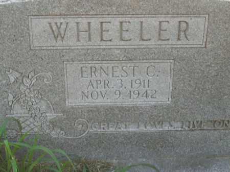 WHEELER, ERNEST  C. - Boone County, Arkansas   ERNEST  C. WHEELER - Arkansas Gravestone Photos