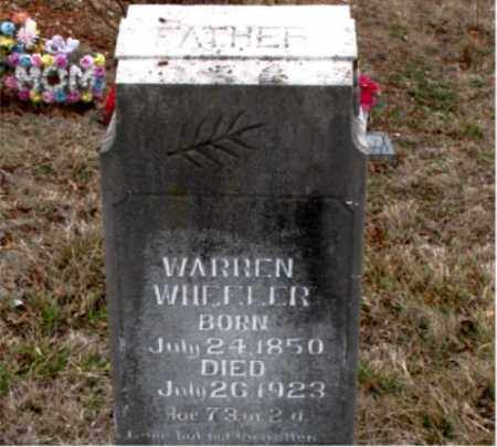 WHEELER, WARREN - Boone County, Arkansas | WARREN WHEELER - Arkansas Gravestone Photos