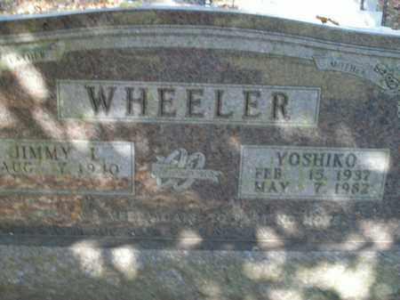 WHEELER, YOSHIKO - Boone County, Arkansas | YOSHIKO WHEELER - Arkansas Gravestone Photos