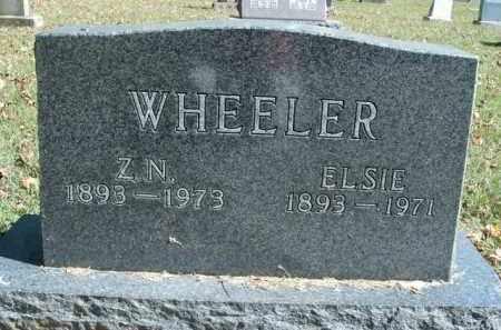WHEELER, ELSIE - Boone County, Arkansas   ELSIE WHEELER - Arkansas Gravestone Photos