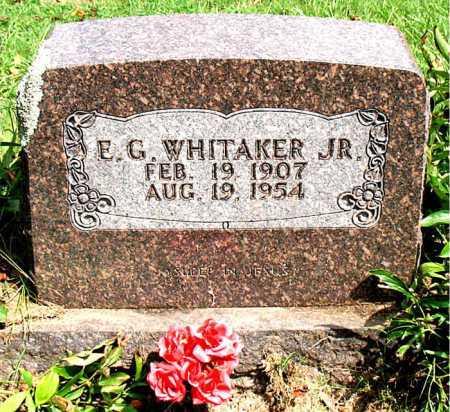 WHITAKER   JR, EDWARD GUINN - Boone County, Arkansas | EDWARD GUINN WHITAKER   JR - Arkansas Gravestone Photos