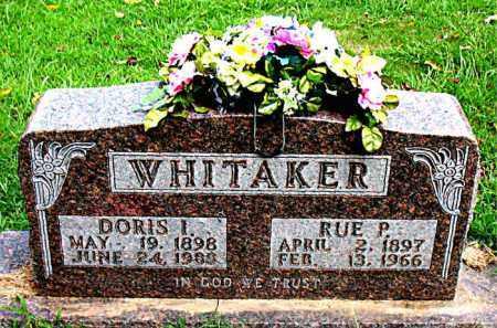 WHITAKER, DORIS INEZ - Boone County, Arkansas | DORIS INEZ WHITAKER - Arkansas Gravestone Photos