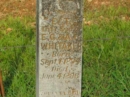 WHITAKER, E.T. - Boone County, Arkansas | E.T. WHITAKER - Arkansas Gravestone Photos