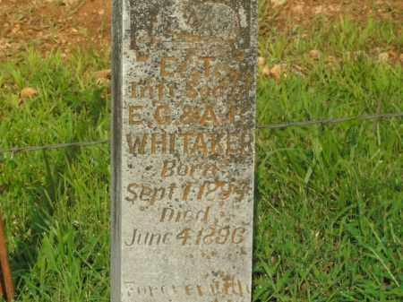 WHITAKER, E.T. - Boone County, Arkansas | E.T. WHITAKER - Arkansas Gravestone Photos