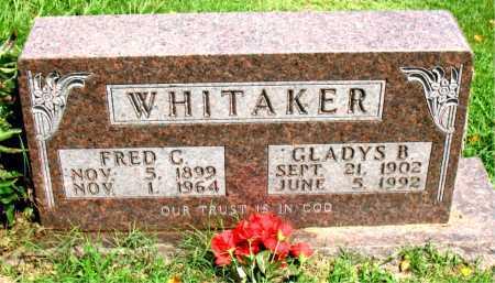 WHITAKER, FRED CULLEN - Boone County, Arkansas | FRED CULLEN WHITAKER - Arkansas Gravestone Photos