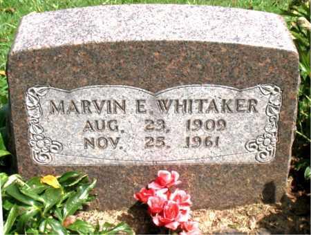 WHITAKER, MARVIN E - Boone County, Arkansas | MARVIN E WHITAKER - Arkansas Gravestone Photos