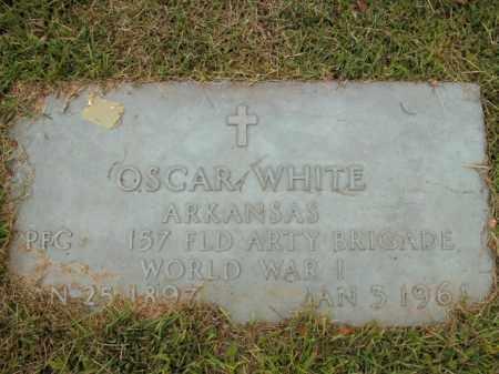 WHITE  (VETERAN WWI), OSCAR - Boone County, Arkansas   OSCAR WHITE  (VETERAN WWI) - Arkansas Gravestone Photos