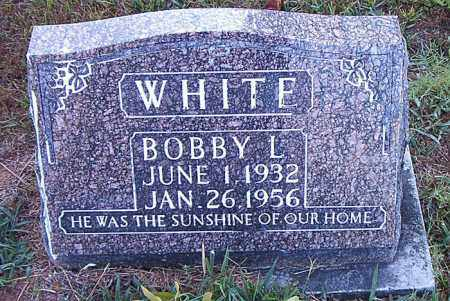 WHITE, BOBBY L. - Boone County, Arkansas | BOBBY L. WHITE - Arkansas Gravestone Photos