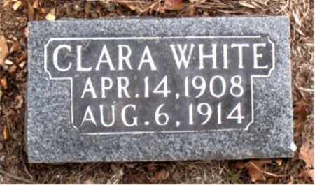 WHITE, CLARA - Boone County, Arkansas | CLARA WHITE - Arkansas Gravestone Photos