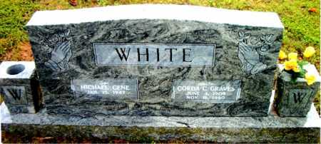GRAVES WHITE, CORDA CECIL - Boone County, Arkansas | CORDA CECIL GRAVES WHITE - Arkansas Gravestone Photos