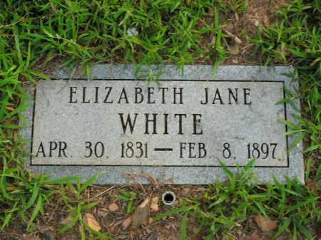 WHITE, ELIZABETH JANE - Boone County, Arkansas | ELIZABETH JANE WHITE - Arkansas Gravestone Photos