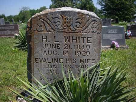 WHITE, TAMAR EVALINE - Boone County, Arkansas | TAMAR EVALINE WHITE - Arkansas Gravestone Photos