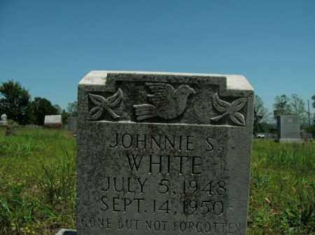 WHITE, JOHNNIE S. - Boone County, Arkansas | JOHNNIE S. WHITE - Arkansas Gravestone Photos
