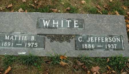 WHITE, C. JEFFERSON - Boone County, Arkansas | C. JEFFERSON WHITE - Arkansas Gravestone Photos