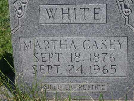 CASEY WHITE, MARTHA - Boone County, Arkansas | MARTHA CASEY WHITE - Arkansas Gravestone Photos