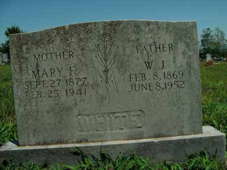 WHITE, MARY F. - Boone County, Arkansas | MARY F. WHITE - Arkansas Gravestone Photos