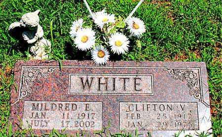 WHITE, CLIFTON V - Boone County, Arkansas | CLIFTON V WHITE - Arkansas Gravestone Photos