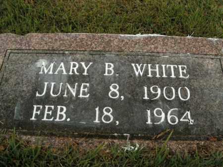 WHITE, MARY B. - Boone County, Arkansas | MARY B. WHITE - Arkansas Gravestone Photos