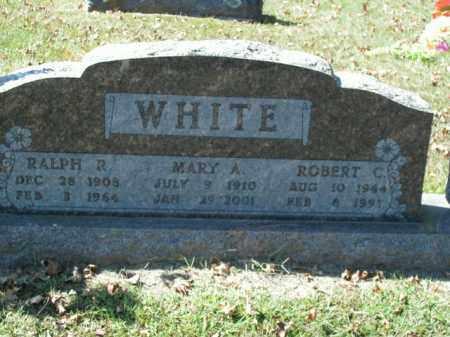 WHITE, RALPH R. - Boone County, Arkansas | RALPH R. WHITE - Arkansas Gravestone Photos
