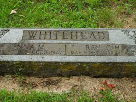 WHITEHEAD, C. H. - Boone County, Arkansas | C. H. WHITEHEAD - Arkansas Gravestone Photos