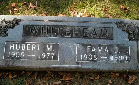 WHITEHEAD, HUBERT M. - Boone County, Arkansas | HUBERT M. WHITEHEAD - Arkansas Gravestone Photos