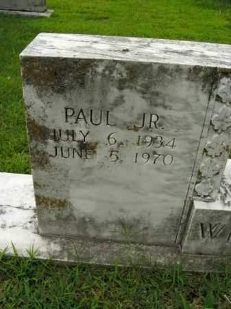 WHITLEY, PAUL, JR - Boone County, Arkansas | PAUL, JR WHITLEY - Arkansas Gravestone Photos