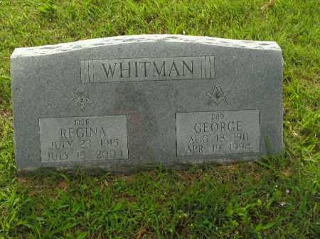 WHITMAN, GEORGE - Boone County, Arkansas | GEORGE WHITMAN - Arkansas Gravestone Photos