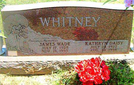 WHITNEY, JAMES WADE - Boone County, Arkansas | JAMES WADE WHITNEY - Arkansas Gravestone Photos