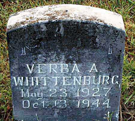 WHITTENBURG, VERBA A. - Boone County, Arkansas | VERBA A. WHITTENBURG - Arkansas Gravestone Photos