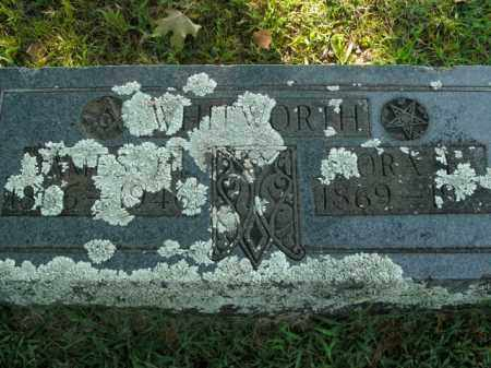 WHITWORTH, JAMES H. - Boone County, Arkansas   JAMES H. WHITWORTH - Arkansas Gravestone Photos