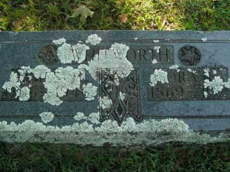 WHITWORTH, ORA E. - Boone County, Arkansas   ORA E. WHITWORTH - Arkansas Gravestone Photos