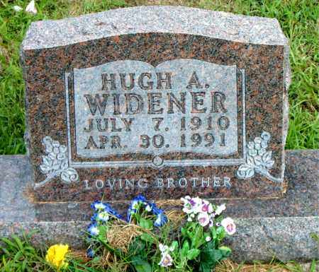 WIDENER, HUGH  A. - Boone County, Arkansas   HUGH  A. WIDENER - Arkansas Gravestone Photos