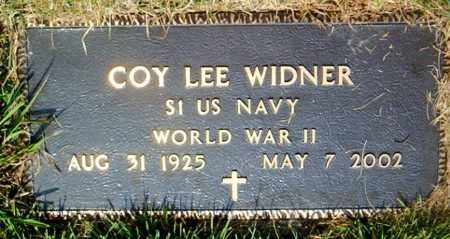 WIDNER  (VETERAN WWII), COY LEE - Boone County, Arkansas | COY LEE WIDNER  (VETERAN WWII) - Arkansas Gravestone Photos