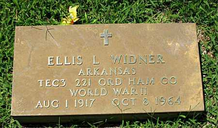 WIDNER  (VETERAN WWII), ELLIS L - Boone County, Arkansas | ELLIS L WIDNER  (VETERAN WWII) - Arkansas Gravestone Photos