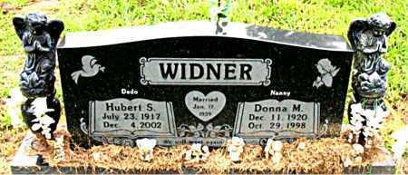 WIDNER, HUBERT S - Boone County, Arkansas | HUBERT S WIDNER - Arkansas Gravestone Photos