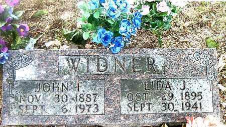 WIDNER, LIDA J. - Boone County, Arkansas | LIDA J. WIDNER - Arkansas Gravestone Photos